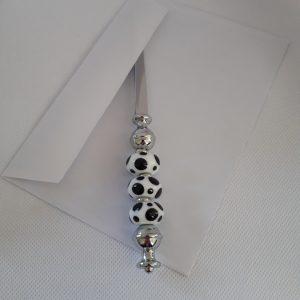 ouvre lettre perle verre murano